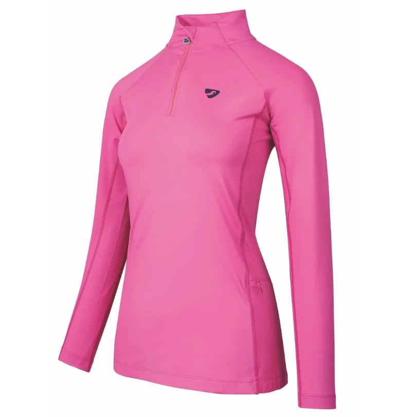 Shires Aubrion Newbury Longsleeve Baselayer Pink