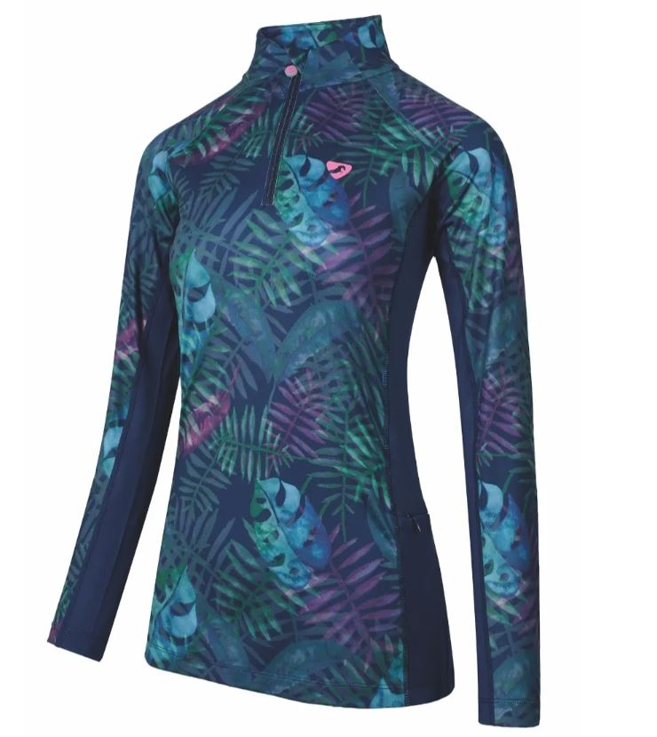 Shires Aubrion Newbury Longsleeve Baselayer Tropical