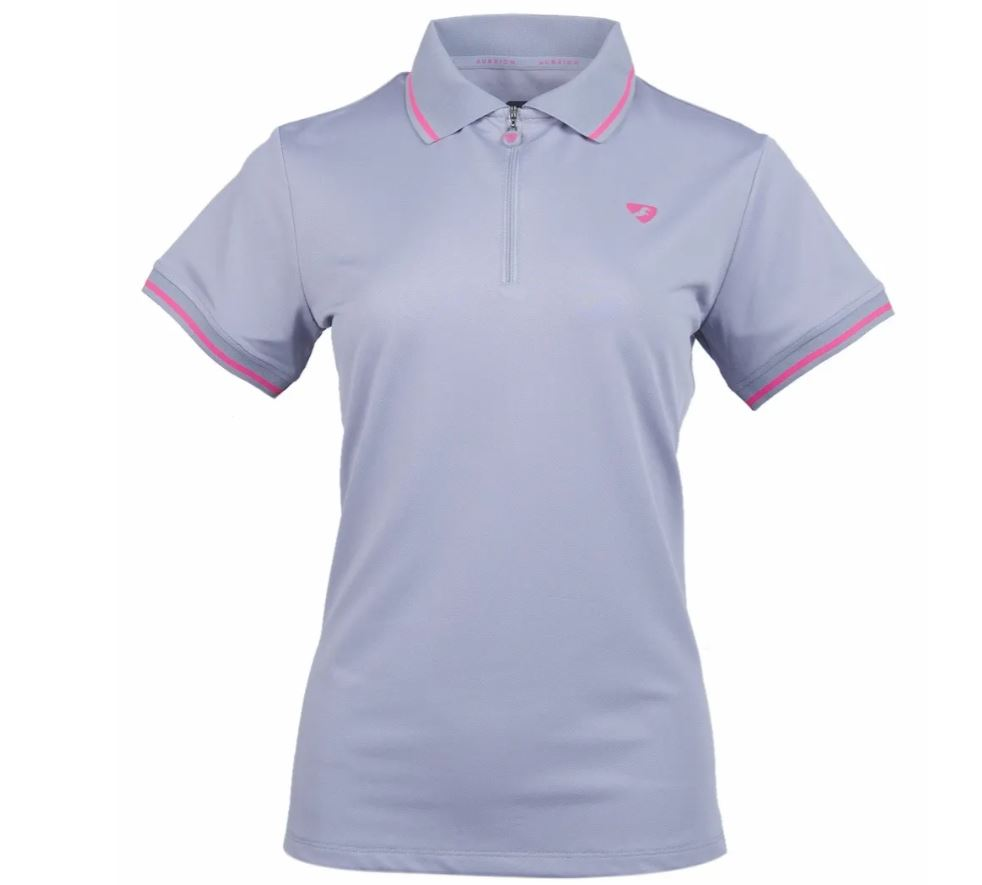 Shires Aubrion Parsons Tech Polo Grey