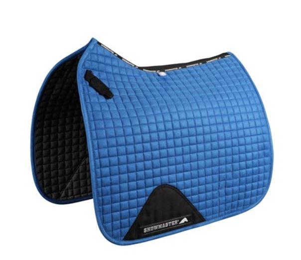Showmaster Kwik-Dry Dressage Saddle Pad Blue