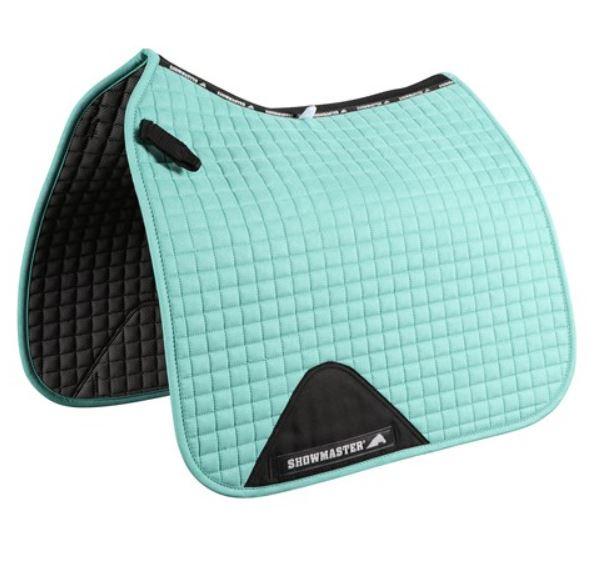Showmaster Kwik-Dry Dressage Saddle Pad Turquoise