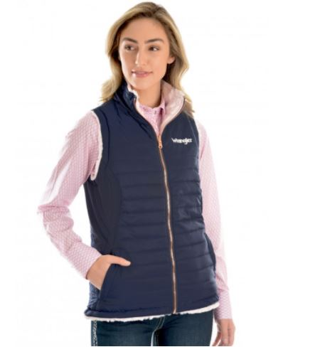 Thomas Cook Amy Reversible Quilted Vest