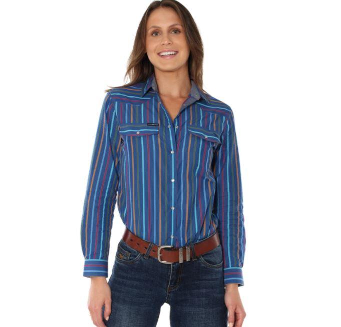 Thomas Cook Cheyenne Print Long Sleeve Shirt