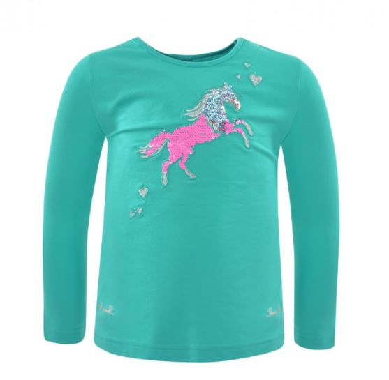 Thomas Cook Girls Toby Horse Long Sleeve Top