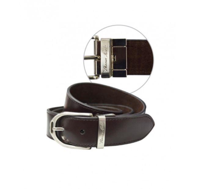 Thomas Cook Stirrup Buckle Reversible Belt