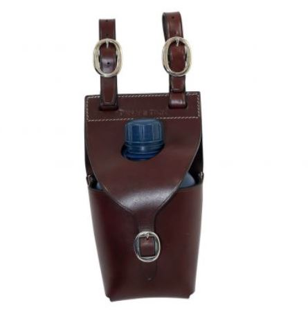 Toowoomba Saddlery Tanami Leather Single Water Bottle Carrier