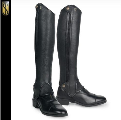 Tredstep Deluxe Leather Half Chap