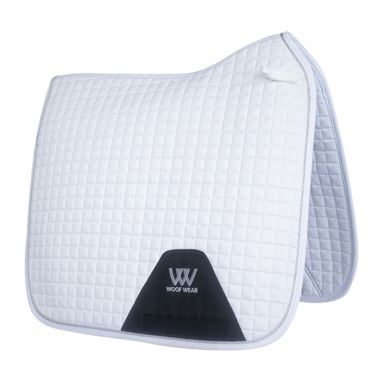WoofWear White Saddlecloth Dressage