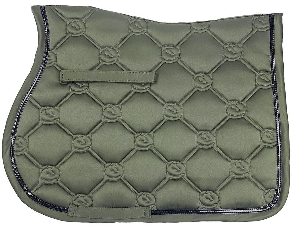Zilco Vogue All Purpose Saddlecloth Khaki Green